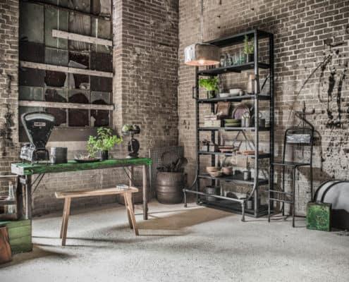Einrichtungsstil: vintage möbel, shabby chic, industrial design, Modern Loft 30