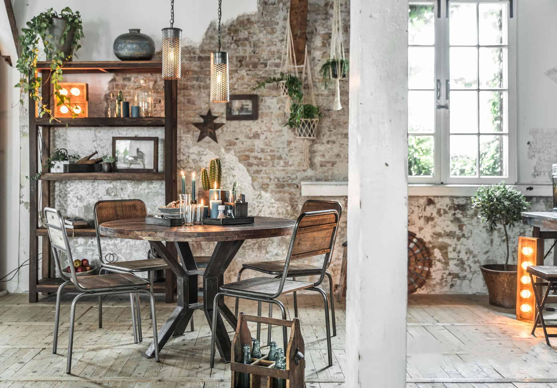 Modern Rustic Wohnzimmer